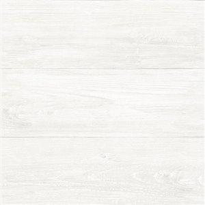 NuWallpaper Reclaimed Shiplap Peel and Stick Wallpaper ...