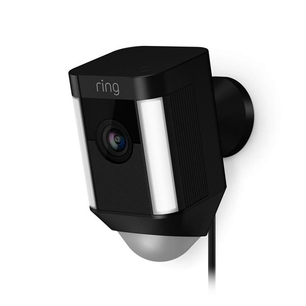 Ring Spotlight Cam Wired Black Lowe S Canada