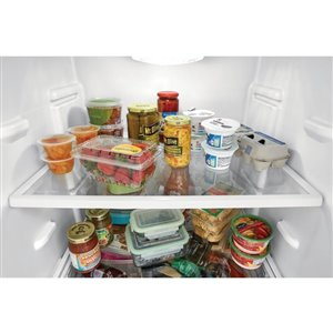Frigidaire Gallery 18-cu ft Standard-Depth Top-Freezer Refrigerator (Fingerprint-Resistant Stainless Steel)