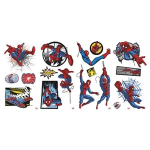 RoomMates Ultimate Spider-Man Comic Wall Decals