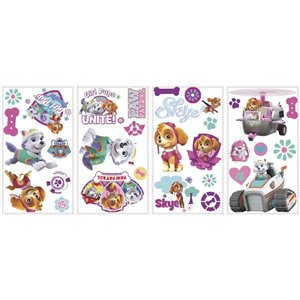 RoomMates Paw Patrol Girl Pups Wall Decals