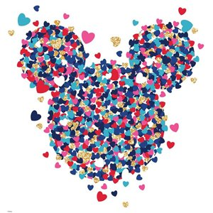 RoomMates Minnie Mouse Confetti Wall Decal