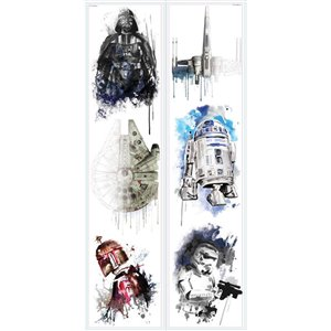 RoomMates Star Wars Iconic Wall Decals