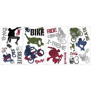 RoomMates Extreme Sports Wall Decals