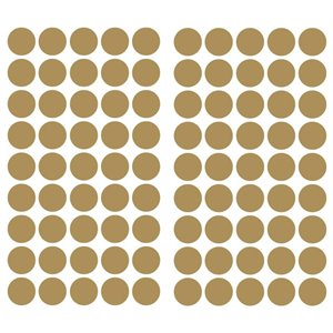 RoomMates Gold Confetti Dots Wall Decals