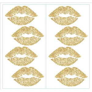 RoomMates Glittered Lips Wall Decals