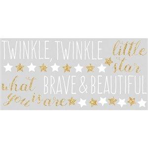 RoomMates Twinkle Twinkle Little Star Wall Decal