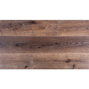 Summit True Grout Vintage oak 7-mm Luxury Vinyl Plank Flooring  (7-in W x 36-in L)
