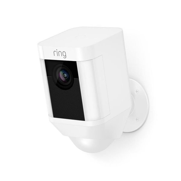 Ring Spotlight Cam Battery Digital Wireless Outdoor Security Camera With Night Vision Lowe S Canada