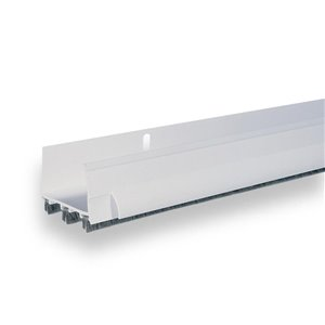 Climaloc White Vinyl Door Weatherstrip (3-ft)