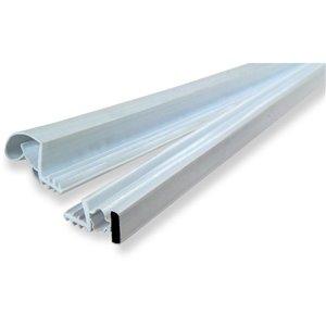 Climaloc plus White Rubber Door Weatherstrip (6.75-ft)