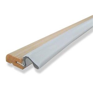 Climaloc plus White PVC foam Door Weatherstrip (3-ft)