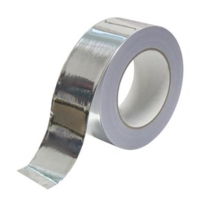 Climaloc 1-7/8-in x 148-ft Silver Self-Adhesive Duct Tape Aluminum Foil