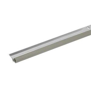 Climaloc Grey Aluminum/Vinyl Door Weatherstrip (3-ft)