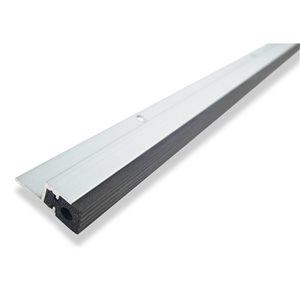 34-in x 17-ft Silver Aluminum/Vinyl Door Weatherstrip