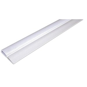 Climaloc White Vinyl Door Weatherstrip (36-ft)