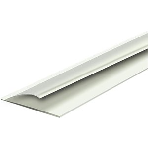 Climaloc White Vinyl Door Weatherstrip (3-ft)