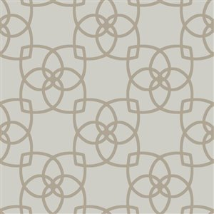 York Wallcoverings Geo Overlay Wallpaper