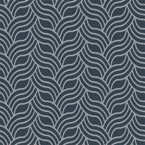 York Wallcoverings Interlocking Geo Wallpaper