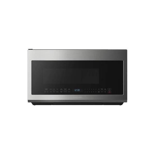 Samsung 30 In 2 1 Cu Ft Over The Range Microwave Stainless Steel Lowe S Canada
