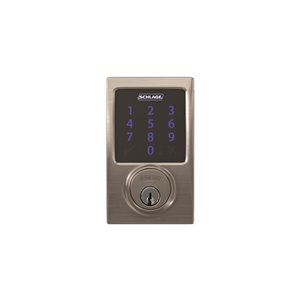 Schlage Connect Century Z Wave Plus Electronic Smart Lock