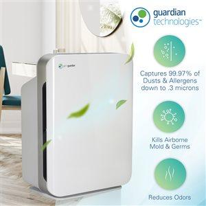 GermGuardian 3-Speed 312 True HEPA Air Purifiers ENERGY STAR