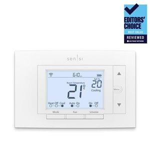 Emerson Sensi White Smart Thermostat (Wi-Fi Compatible)
