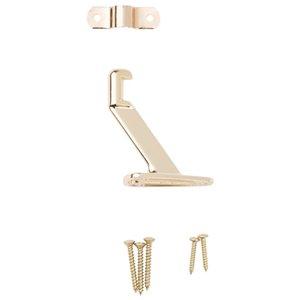 National Hardware 1-Pack Brass Die cast steel Handrail ...