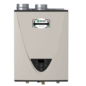 A.O. Smith Signature 199000 BTU Natural Gas Tankless Water Heater (15-Year)
