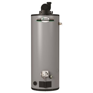 A.O. Smith Signature 50-Gallon 40000 BTU Short Power Vent Natural Gas Water Heater (6-Year) G6C-PVS5040NV
