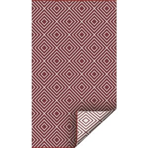 3-ft x 5-ft Red Pure Plastic Outdoor Area Rug