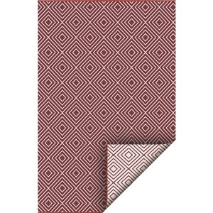 5-ft x 7-ft Red Diamond Pure Plastic Outdoor Area Rug