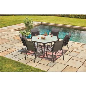 5-ft x 7-ft Sunset Pure Plastic Outdoor Area Rug
