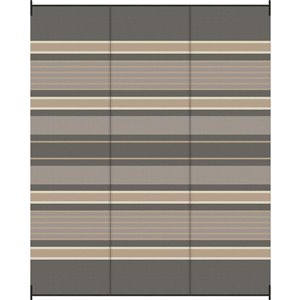 9-ft x 12-ft Grey Fox Woven Outdoor Rug