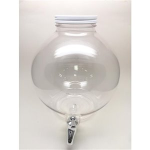 Clear Shatterproof Round Drink Dispenser