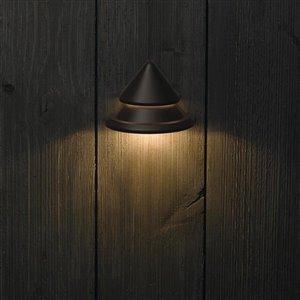 Kichler 1-Pack 2-Watt Olde Bronze Low voltage Plug-in LED Rail Light