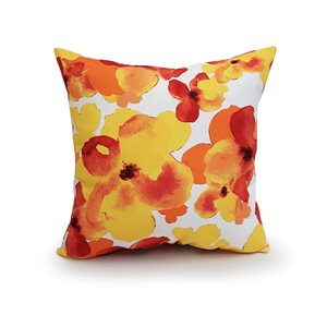 Style Selections Toss Pillow Yellow Floral