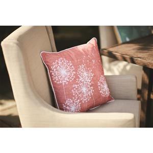 18-in Dandelion Cotton Toss Pillow