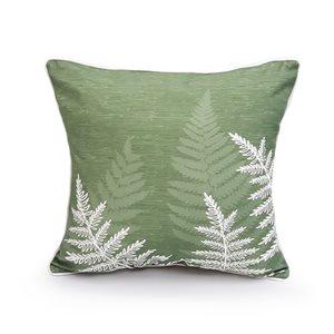 18-in Fern Cotton Toss Pillow