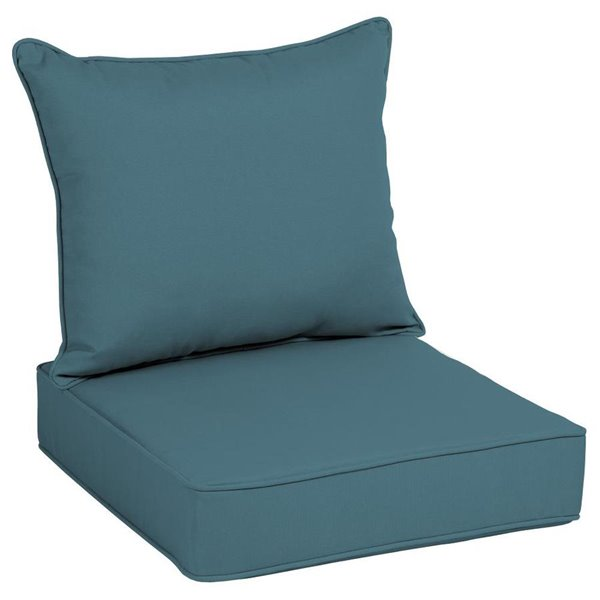 Turquoise Polyester Deep Seat Patio, Deep Seating Patio Cushions Canada