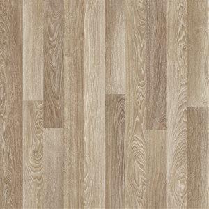 Mono Serra Group Natura Beige Brown 7.6-in W x 47.24-ft L Smooth Wood Plank Laminate Flooring