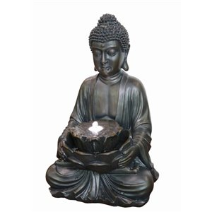 Style Selections Buddha Fountain