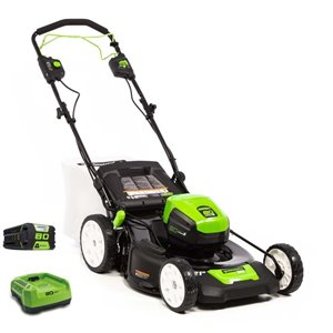 Greenworks 21-in 80V Cordless Self Propelled Lawn Mower