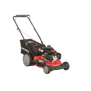 CRAFTSMAN 21-in 160cc 3-in-1 Push Lawn Mower