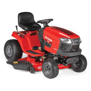 CRAFTSMAN 547cc Automatic 46-in Riding Lawn Mower Tractor with Mulching Capabilities