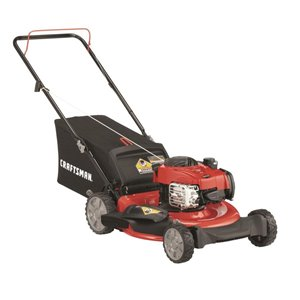 CRAFTSMAN 21-in 140cc 3-in-1 Push Lawn Mower
