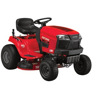 CRAFTSMAN 36-in 382cc Gas Riding Lawn Mower Tractor