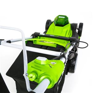 Greenworks 17-in 40V Cordless Lawn Mower