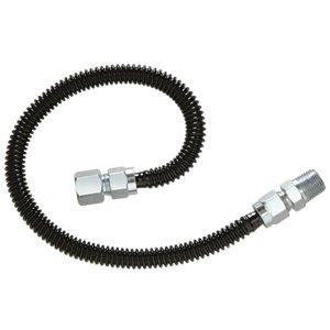 BrassCraft 0.5-PSI Stainless steel Gas connector