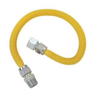 1/2-in Dia x 24-in L. SS Corrugated Gas Connector